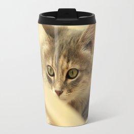 pussy at vacation Travel Mug