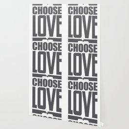 Choose Love Typography Wallpaper