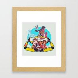 caravan fam Framed Art Print