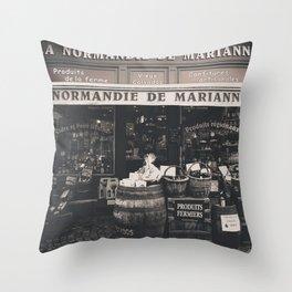 Shop France Throw Pillow