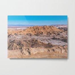 Valle de la Luna (Moon Valley) in San Pedro de Atacama, Chile 2 Metal Print