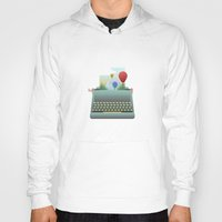 write Hoodies featuring Write your story by Moremo