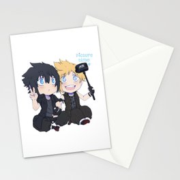 FFXV - Tiny Noctis and Prompto Stationery Cards
