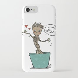 I am Groot iPhone Case