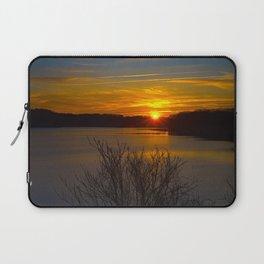 Sunrise at Little Seneca Lake Laptop Sleeve