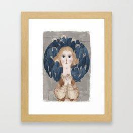 Joan of Arc - Voices Framed Art Print