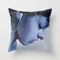 Listen Yourself Throw Pillow