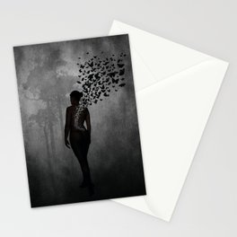 The Butterfly Transformation Stationery Cards