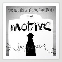 Motive Buzzsession Cover Art Art Print