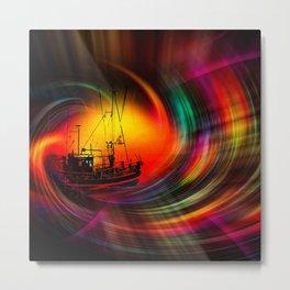 Time Tunnel 3 Metal Print