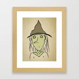 Miss West Framed Art Print