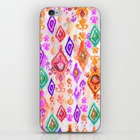 bali iPhone & iPod Skins featuring Bali Ikat  by Nikkistrange