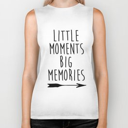 Baby Room Decor, Little moments big memories,Printable Wall Art, Inspirational poster, kids room dec Biker Tank