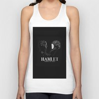hamlet Tank Tops featuring Hamlet: Prince of Mars by Caitlin Taduran