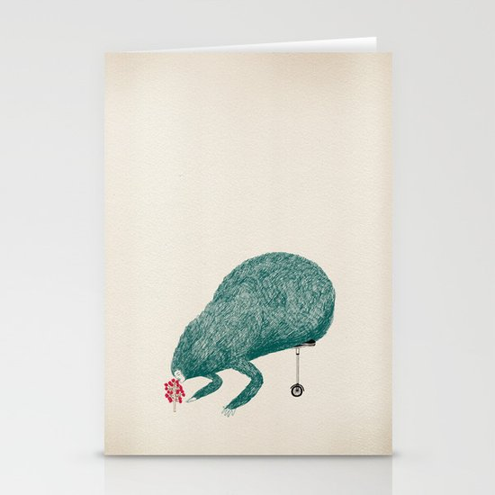 Monster Stationery Cards