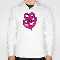 anchor Hoodies featuring Anchor by Artistic Dyslexia