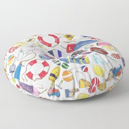 Buoy Collection Floor Pillow