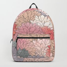 Hydrangea Haven - Muted Colors Backpack