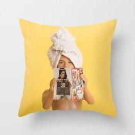 Just fabulous Throw Pillow