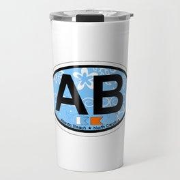 Atlantic Beach - North Carolina. Travel Mug