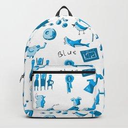 Blue Things Backpack