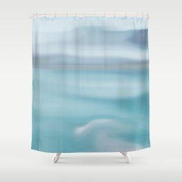 Neptune haze Shower Curtain
