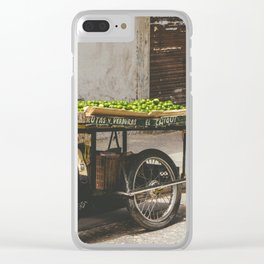 Limes on the Street, Cartagena, Colombia Clear iPhone Case