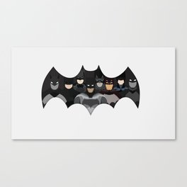 Who is the Bat? Canvas Print