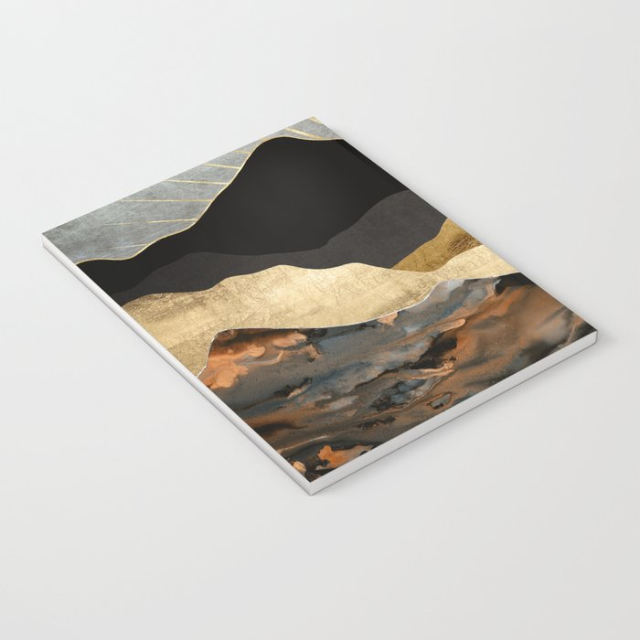 Copper and Gold Mountains Notebook