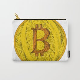 Bitcoin Doodle Art Carry-All Pouch