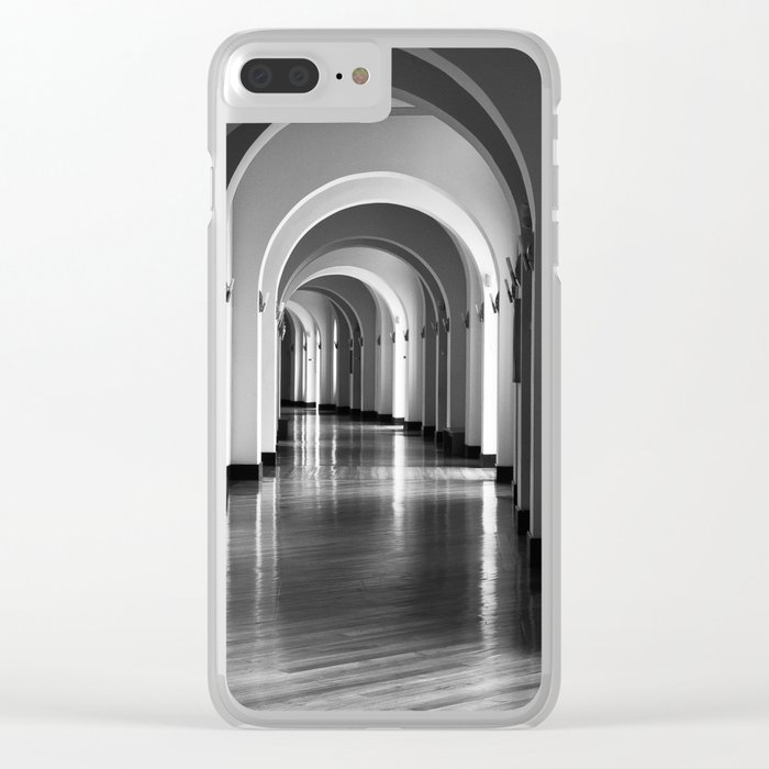 According to the light Clear iPhone Case