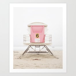 Pink Tower 6 Art Print