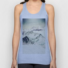 Flight Over Yatsugate Unisex Tank Top