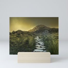 Mountain Path III Mini Art Print
