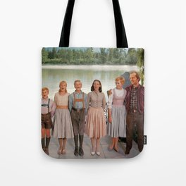 Jack Torrance in The Sound of Music Tote Bag