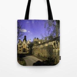 Manor Gatehouse  Tote Bag
