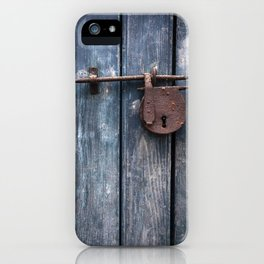 Padlock III iPhone Case