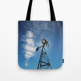 Spinning Blades Tote Bag