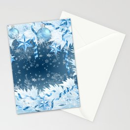 Christmas decoration Stationery Cards