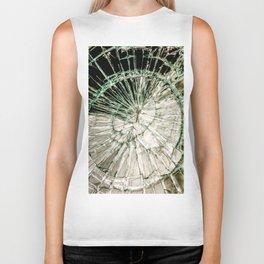 Web of Glass Biker Tank