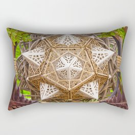 Earth Dragon Rectangular Pillow