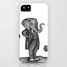 King of the world iPhone Case