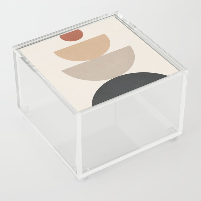 Geometric Modern Art 31 Acrylic Box