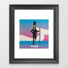 Ahab Framed Art Print
