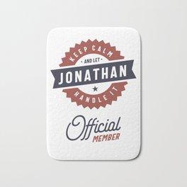 Keep Calm Jonathan Bath Mat
