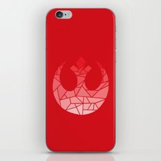 Star Wars Rebel Red Gradiant iPhone & iPod Skin