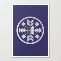 Aztec No. 3 Canvas Print