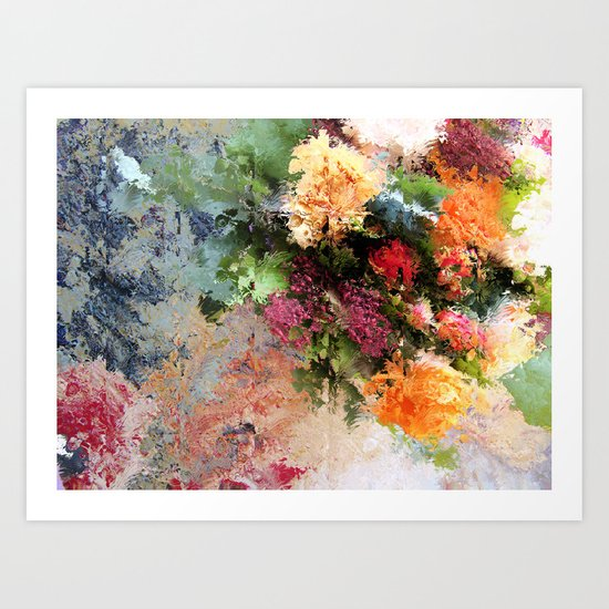 Four Seasons in One Day Art Print