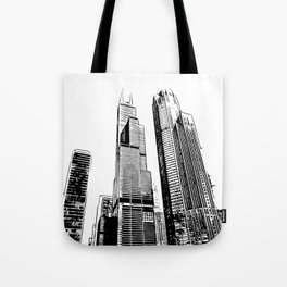Chicago's Willis Tower Tote Bag