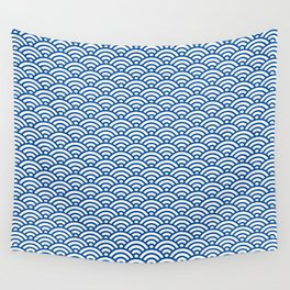 """""""Seigaiha"""" Japanese traditional pattern Wall Tapestry"""